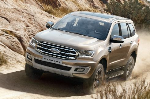 Ford Everest single turbo